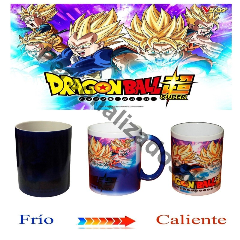 Taza magica Dragon ball T012