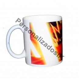 Taza magica Dragon Ball Goku super saiyan