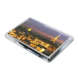 Imanes de metacrilato rectangulares personalizados con foto
