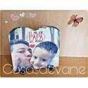Piedra personalizada con foto y texto que quieras regalo papá o mamá