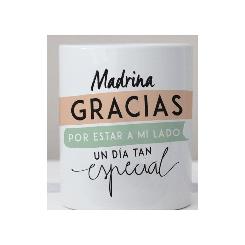 73320c167e Taza regalo madrina perzonalizada.