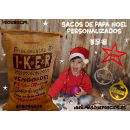 Saco Papá Noel del Polo Norte regalo niños