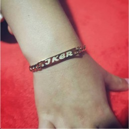 Esclava pulsera de acero ideal niños unisex