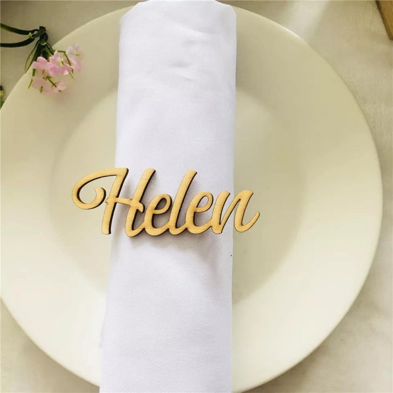 Marca sitios -nombre invitado para eventos bodas bautizos o comuniones