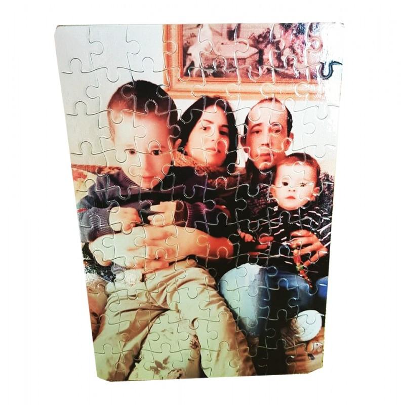 puzzle personalizado con tu foto 10x14,5cm ideal para enmarcar