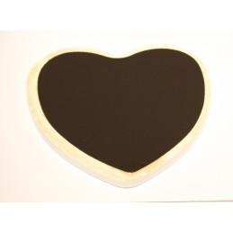 Imán cerámica personalizado historia de amor
