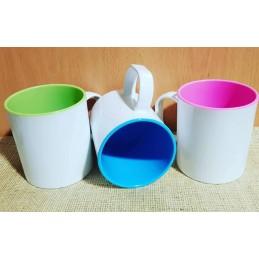 Taza plástico irrompibles, varios colores a elegir, ideal para niños