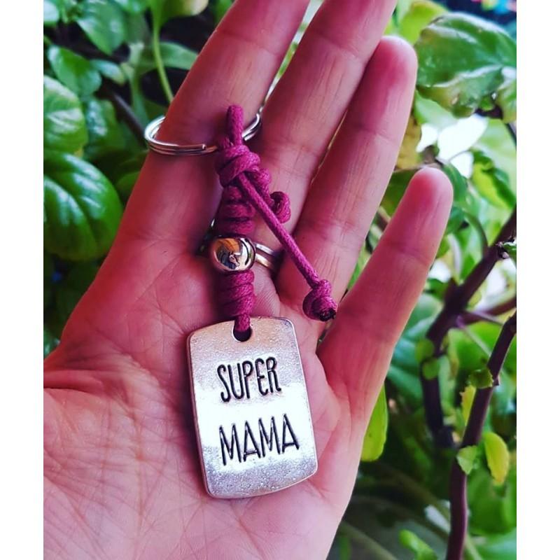 Llavero super mamá detalle madres
