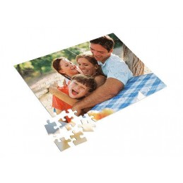 Puzzle personalizado 120 piezas, cartón, retrato, regalo, con foto, imagen A4