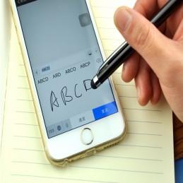 Boligrafo táctil Universal 2 en 1 granate o azul personalizado con tu nombre