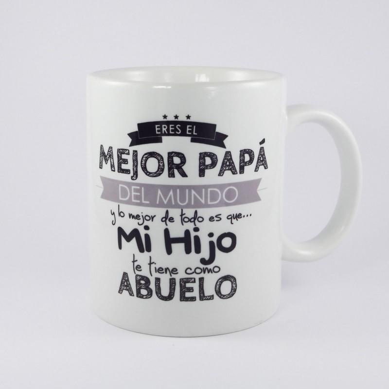 taza personalizada padre abuelo regalo dia del padre aniversario cumpleaños M51
