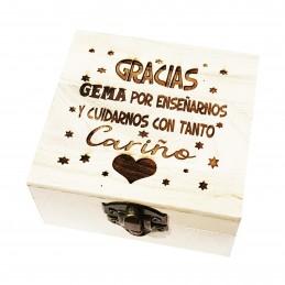 Caja regalo especial profesoras y profesores