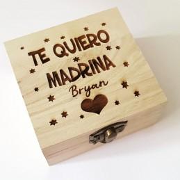 Lote pulsera más caja especial regalo madrinas