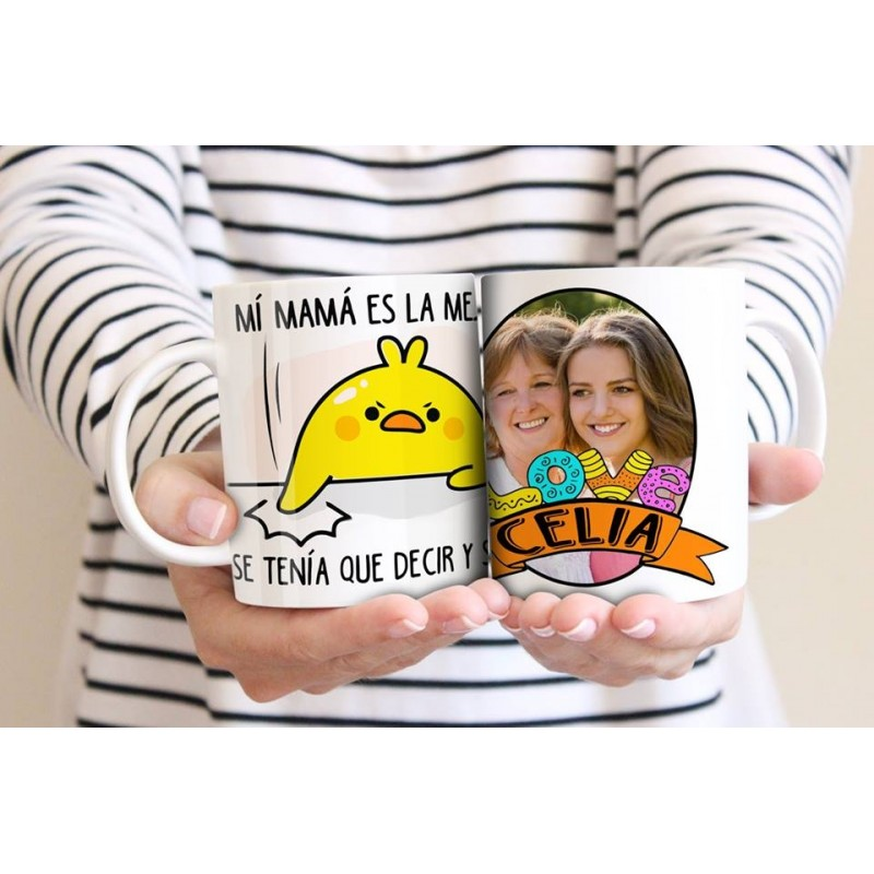 Taza personaliazada especial mamá m13