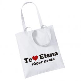 Bolsa personalizada de tela especial maestras y profesoras