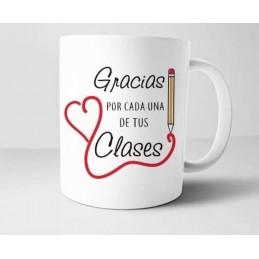 Bonita y elegante taza especial profesoras-fin de curso unisex