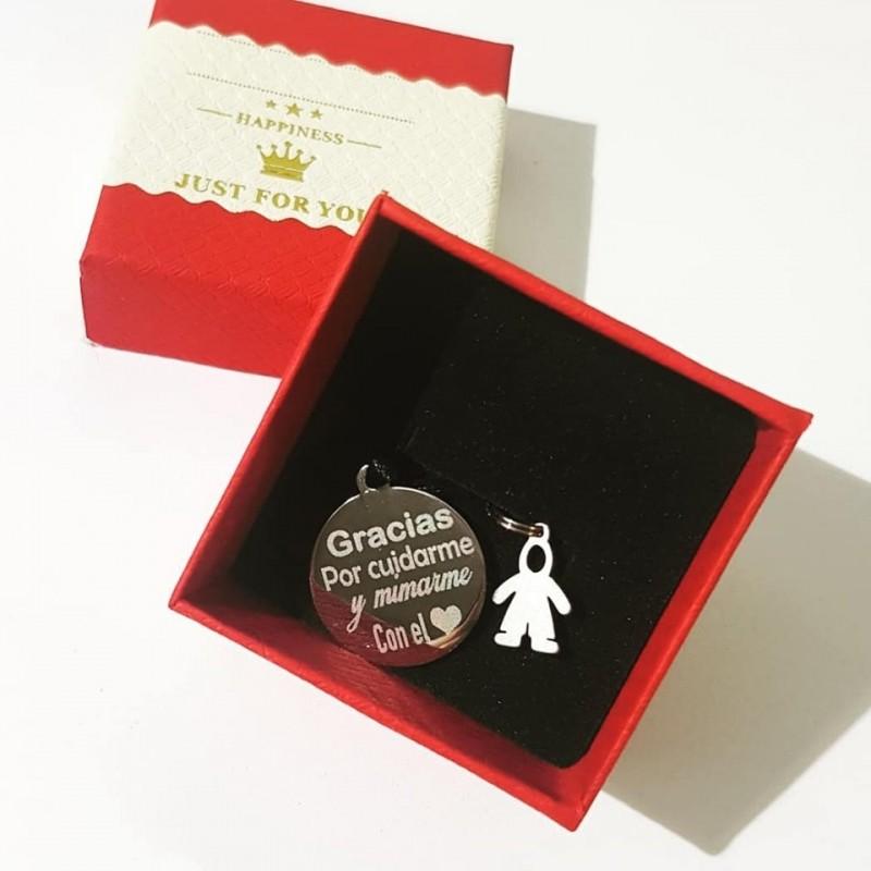Bonita y original pulsera ajustable regalo profesoras y monitoras del cole