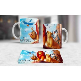 Taza divertida del personajes del Rey León,ideal para niños