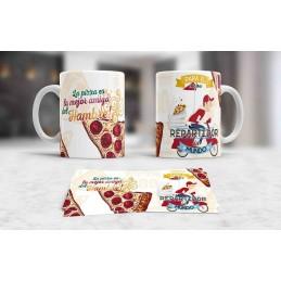 Taza especial para repartidores de pizza