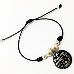 Bonita y original pulsera ajustable-detalles madrinas en bautizos etc