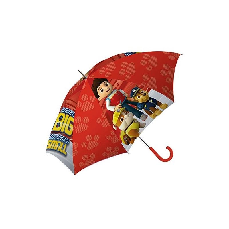 Paraguas Rojo infantil de La Patrulla Canina para niños