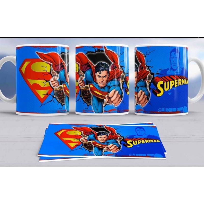 Super taza SuperMan-héroes famosos-Marvel