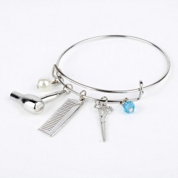 Bonita pulsera especial peluqueras y estilistas-opción de personalizar