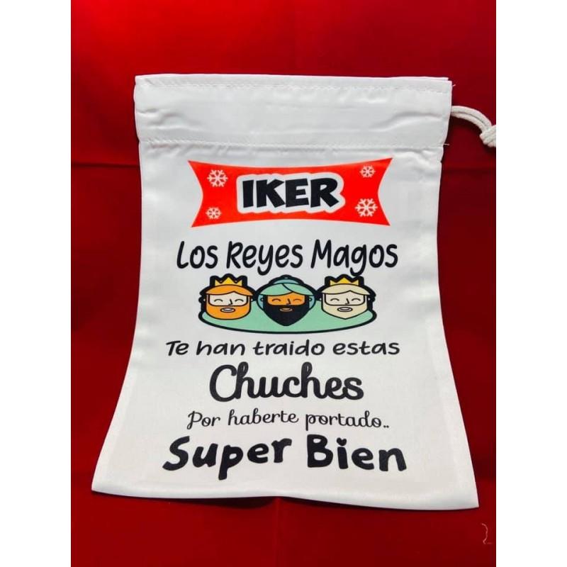 Bolsa para Chuches Tela Personalizado-regalo reyes magos