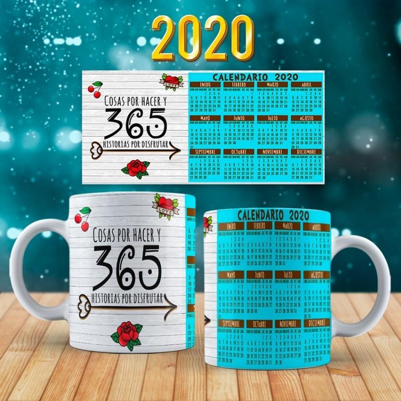 Taza calendario año nuevo 2020-M2