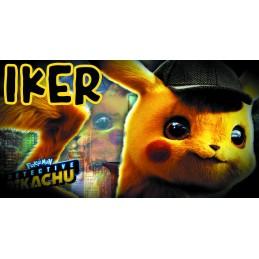 Super taza de Pikachu personalizada con su nombre