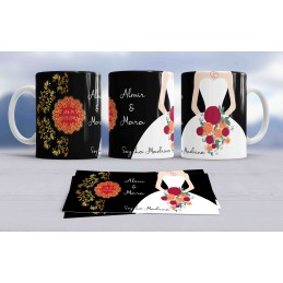 Super tazas de amor ideal bodas-regalo novios y matrimonios