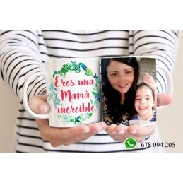 Taza regalo día de la madre personalizadas con tu foto favorita