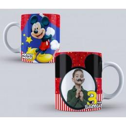 Taza Mickey Mouse cumpleaños niños 350ml-M2