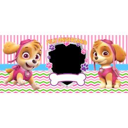 Taza patrulla canina personaje skye cumpleaños niñas 350ml