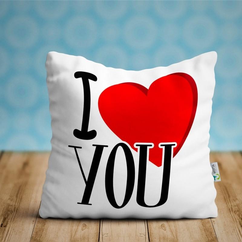 Cojin I you, regalo enamorados ideal parejas San Valentín