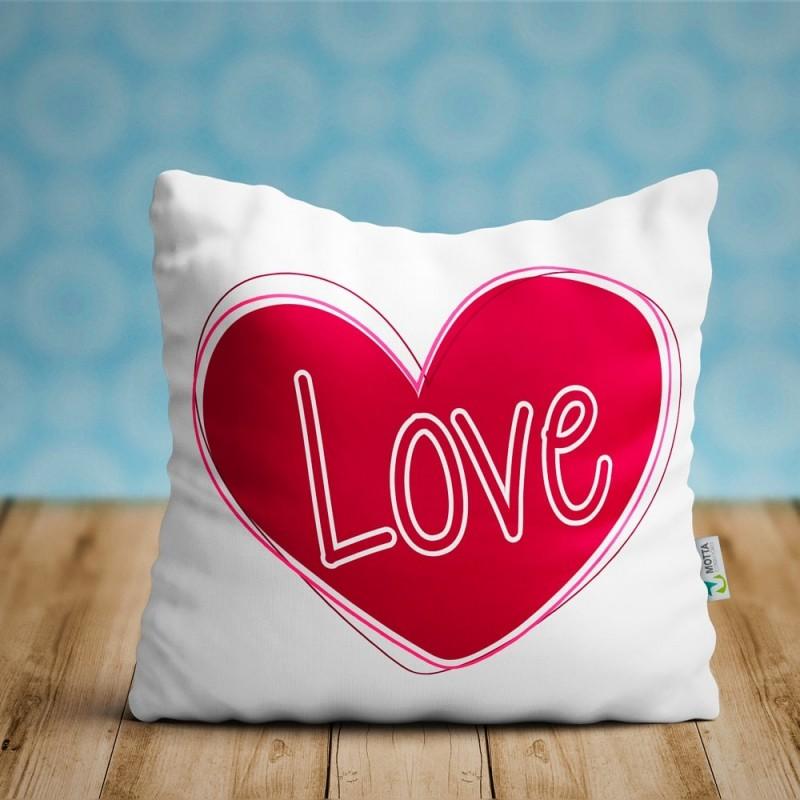 cojin LOVE, regalo enamorados ideal parejas San Valentín