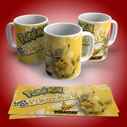 Super taza de Pikachu personalizada con su nombre M2