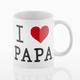 Taza de cerámica regalo padre te quiero papa personalizada