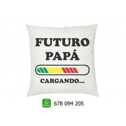 Cojin futuro papá regalo para los padres en el dia del padre
