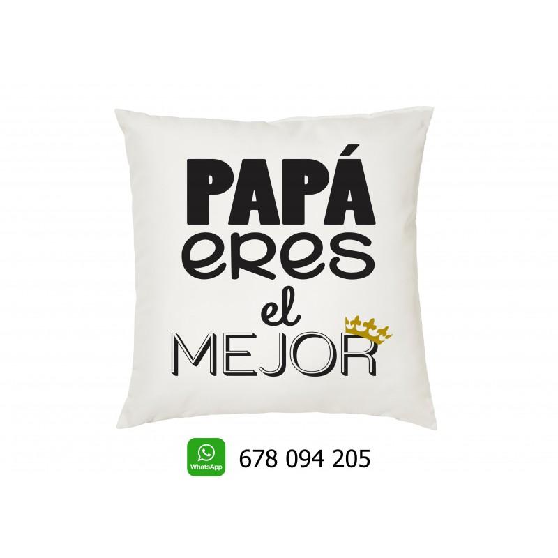 Cojin papa eres el mejor regalo para los padres en el dia del padre