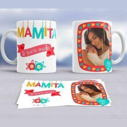 Taza regalo mamita te quiero mucho - Taza con foto mama