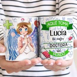 Taza personalizada médicas-nuestros ángeles