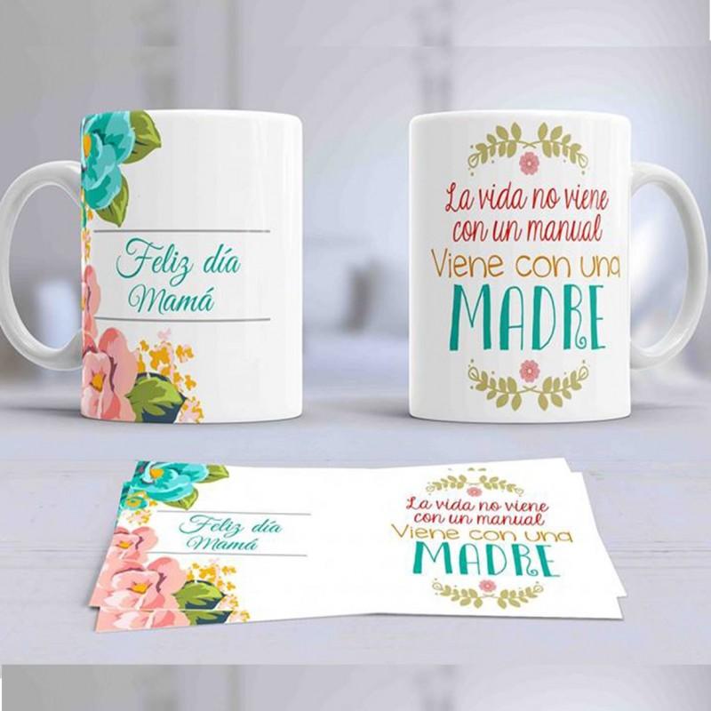 Taza regalo para mamas en el dia de la madre