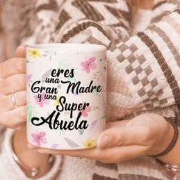 Taza personalizada madres y abuelas