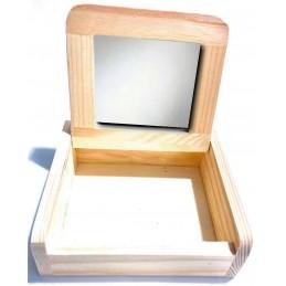 Mini joyero con espejo personalizado