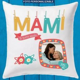 Cojin mami con foto personalizada
