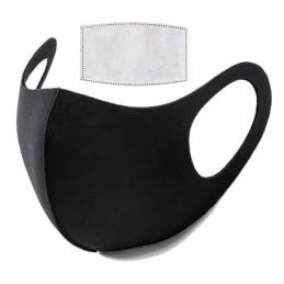 Mascarilla Negra Reutilizable con Filtro