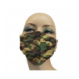 Mascarilla Adulto Higiénica Reutilizable Militar Camuflaje