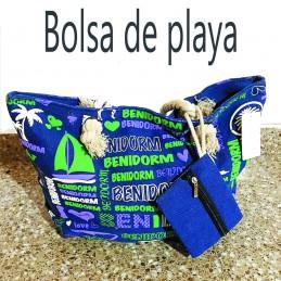 Bolsa para la playa con monedero incluido Benidorm