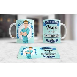 Taza original personalizada para enfermera regalo original ideal hospital